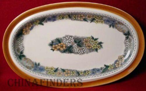 "14-3//4/"" GOEBEL china BURGUND pattern Oval Serving Platter"