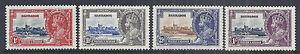 1935 Barbados - 186-189 | 241-244 - KGV Silver Jubilee MNH XF*