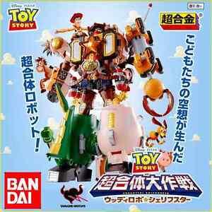 Toy Story Robot Chogokin Woody Robo Sheriff Star Modèle moulé sous pression Bandai Tamashii