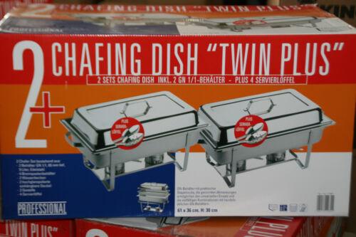 4 servierlöffel Chafing dish 2 X GN 1//1 contenitore