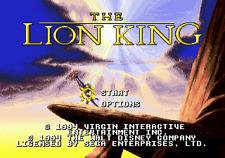 The Lion King - Sega Genesis Game Only