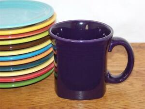 Fiesta-PLUM-13-oz-Square-Mug-Discontinued-Item-amp-Color