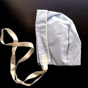 Vintage Baby Bonnet  Old Fashioned KIds Unisex size NB & 3m