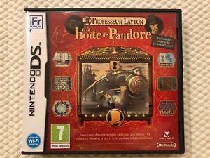 Professeur-Layton-et-la-Boite-de-Pandore-Nintendo-DS-Complete-w-Case-amp-Manual
