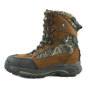 15bc19f91f4 Details about MENS GOLDEN RETRIEVER LEATHER CAMO COMPOSITE TOE HUNTING WORK  BOOTS 4663 winter