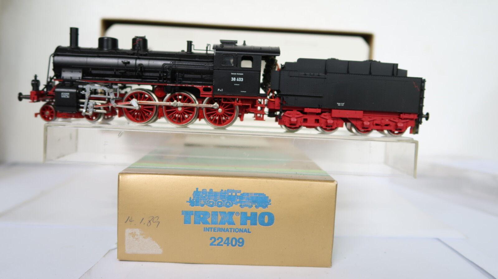 Trix HO DC 22409 Dampf Lok BR BR BR 38 403 DRG (CQ 433-65R7 15)  | Ausgezeichnetes Preis  19656e