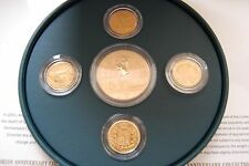 2001 RM £5 Victorian Era 71.90g (AGW 65.90g) Reverse Proof Gold Coin Box COA