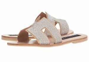 STEVEN-by-Steve-Madden-Womens-Size-8M-Greece-Leather-Flat-Sandals