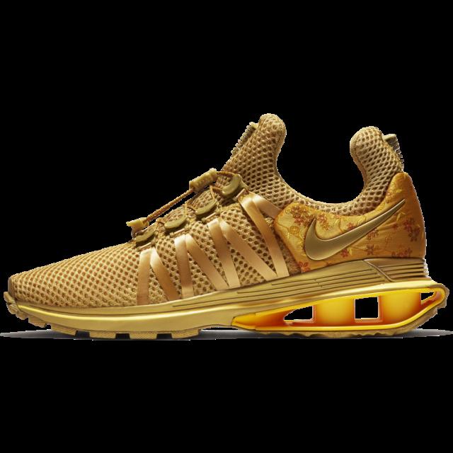 Shox Gravity Shoes Size 9 Metallic Gold