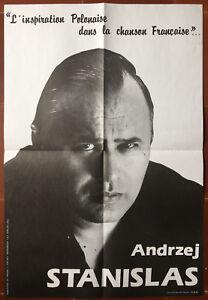Affiche-ANDRZEJ-STANISLAS-L-039-Inspiration-polonaise-dans-la-chanson-francaise