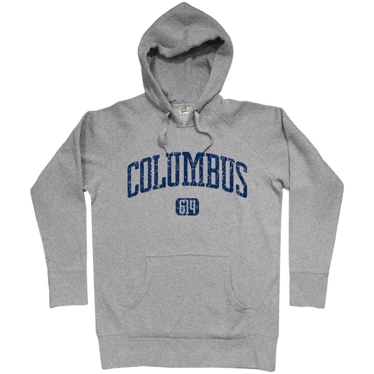 Ohio State University OSU OH Crewneck Columbus 614 Sweatshirt Men S to 3XL