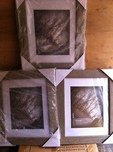 3 new jo ann ea 11 x 14 picture frames wood look 8 x 10 mat photos. Black Bedroom Furniture Sets. Home Design Ideas