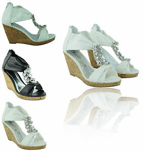 LADIES-WOMENS-SUMMER-STRAPPY-LOW-MID-HIGH-HEEL-CORK-WEDGE-SANDALS-SHOES-SIZE