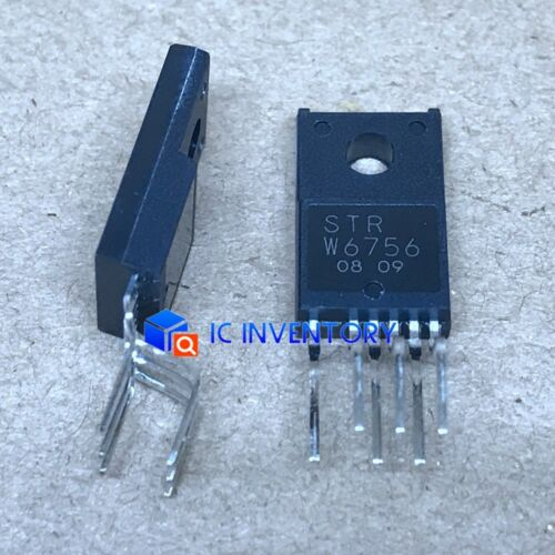 Lot of 10PCS STR-W6756 STRW6756 W6756 FLYBACK SWITCHING REGULATOR IC NEW