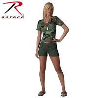 3176 Rothco Womens Shorts - Olive Drab