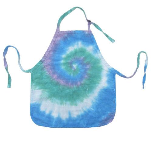 Brightside Tie-Dye 3-Pocket Waist Apron Aqua New w//Defects /& Lavender Blue