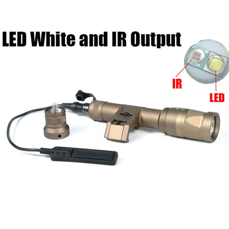 IFM M600V IR Flashlight LED White  Light & IR Dual Output Weapon Light Hunting  not to be missed!