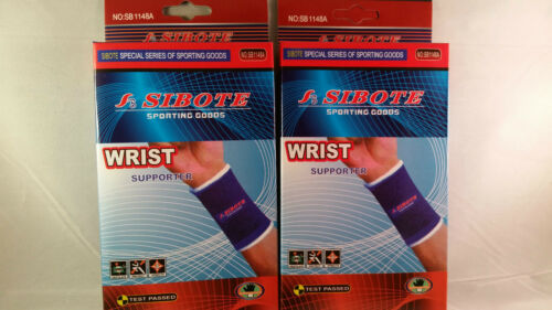 2 Wrist Brace Pain Relief Elastic Sporting Support Goods CarpalTunnel Tendonitis