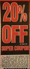 Two(2) Harbor Freight 20% Off! ~ Use at Home Depot/Lowes ~ Expiration > 2 Months