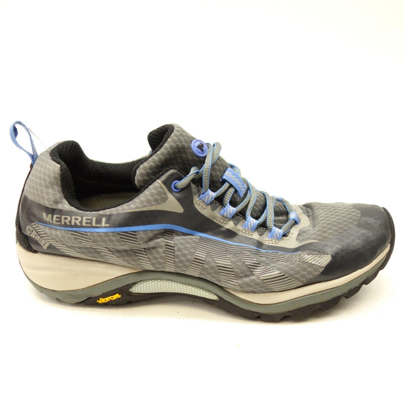 Merrell donna Siren Edge Waterproof Vibram Athletic Trail Hiking scarpe Dimensione 10