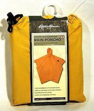 "NEW Eddie Bauer Tan Beige Youth Waterproof Rain Poncho 40/"" x 60/"""