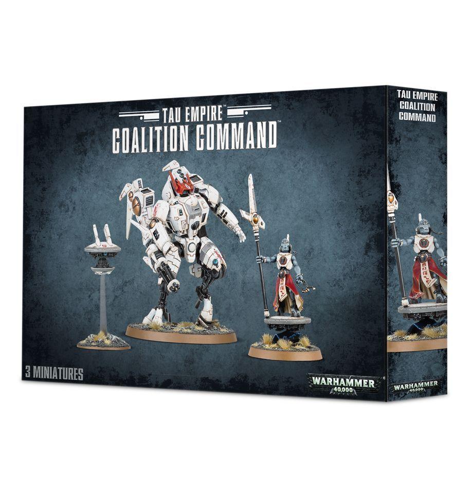 Warhammer 40.000  tau - imperium koalition kommando gw 56-25 nib