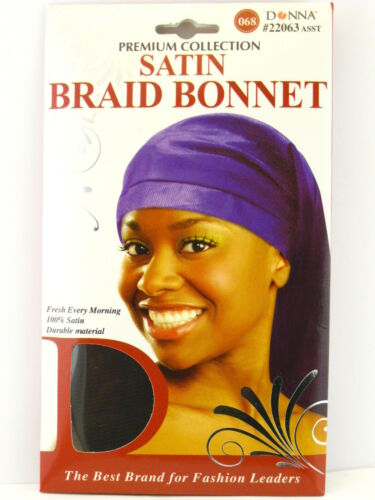 DONNA PREMIUM COLLECTION SATIN BRAID BONNET 22063