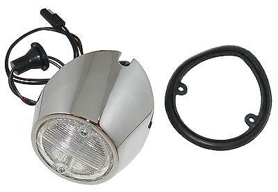 1969 1970 Ford Mustang Back Up Lamp Body /& Socket LH Single Backup Light