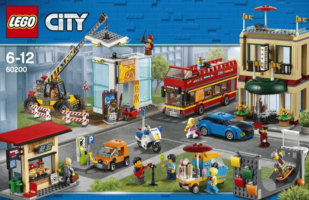 LEGO® City 60200 Hauptstadt NEU OVP_ Capital City NEW MISB NRFB