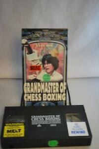 Details about Grandmaster of Chess Boxing Wu Tang Collection Video Marital  Art VHS OOP Kung Fu