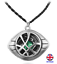 Unisex Doctor Strange Pendant Necklace Eye of Agamotto UK Stock