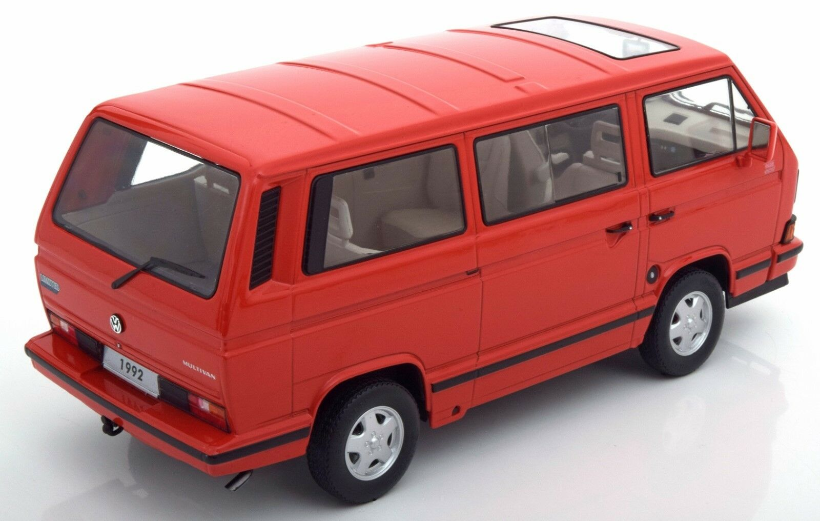 VW T3 Multivan  Red    1992 (KK Scale 1 18   180142) cd4cb7