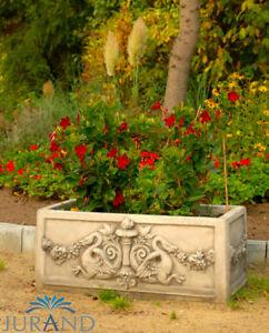 Figurine Sculpture Jardin Fleurs Pot Pot Décoration Pierre Personnages Sculptures 2028-afficher Le Titre D'origine
