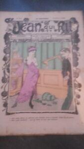 Rivista Jeans Che Rit N° 452 1909 Giornale Illustre che Appaiono Il Venerdì ABE