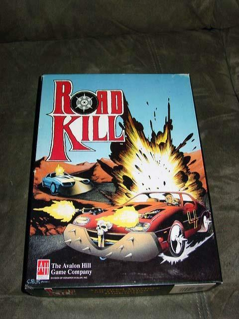 Avalon Hill 1993-Road Kill-Cross Country démolition Racing - (non perforé)