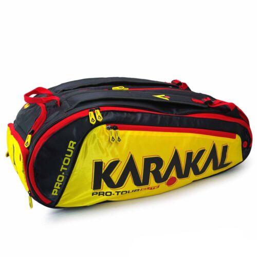 Karakal Pro Tour Elite Tennis Badminton Squash 12 Racket Bag