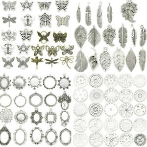 New-69-Kinds-Antique-Silver-Beautiful-Crafts-Jewelry-Making-Charm-DIY-Pendant