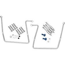 HARLEY 91-17 FXD DYNA GLIDE MODELS Saddlebag Support Brackets Kit: 3501-0258