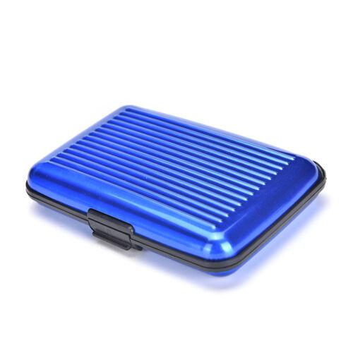 Women Men Waterproof ID Credit Card Wallet Holder Aluminum Metal Pocket Case .*