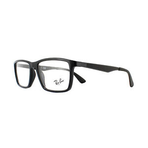 1946893ec0 Ray-Ban Glasses Frames 7056 2000 Shiny Black 53mm 8053672403008
