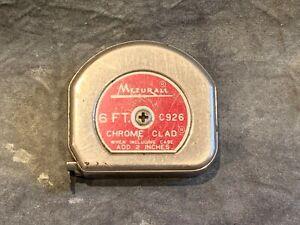 Vintage Lufkin Mezurall 6ft Measuring Tape