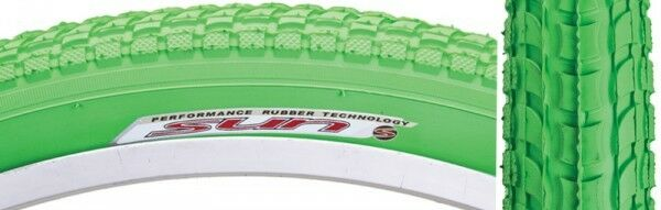 1 pair K927 Kenda Sun bicycle tire 26x2.125 balloon Classic Beach Cruiser Green