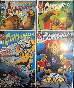 Congorilla-1-4-Set-VF-1st-Print-DC-Comics