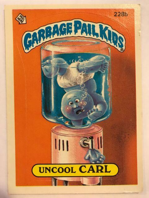 Garbage Pail Kids GPK Original Series 6 #221b Shrill Jill NON-MINT