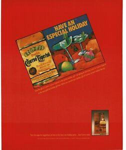1989 JOSE CUERVO Especial Gold Tequila Vintage Print Ad