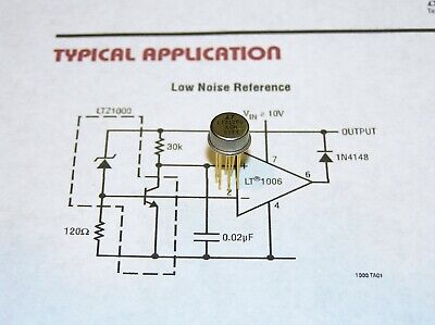 1× Semi-finished Board Ultra Precision Voltage Reference LTZ1000ACH LTZ1000CH