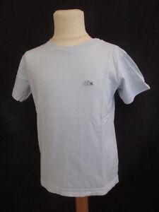 T-shirt-Lacoste-Bleu-Taille-8-ans-a-36