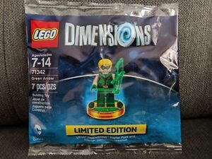Lego 71342 Dimensions Limited Edition  Green Arrow  brand new sealed