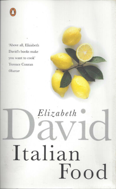 Italian Food by Elizabeth David - 376 page Paperback NEW **FREE UK P&P**