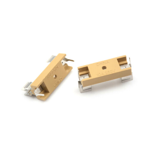 5PCS Panel Mount PCB Fuse Holder With Cover For 6x30mm Fuse 250V 10A E/&F